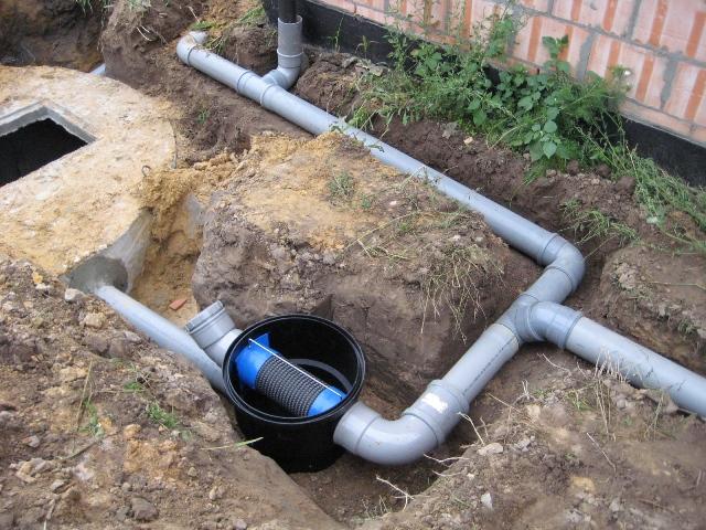 Regenwaterput aansluiten op riolering